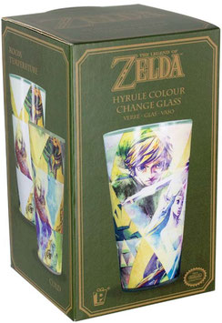 LEGEND OF ZELDA VASO QUE CAMBIA DE COLORES HYRULE