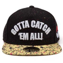 GORRA BÉISBOL POKEMON SNAP BACK GOTTA CATCH 'EM ALL