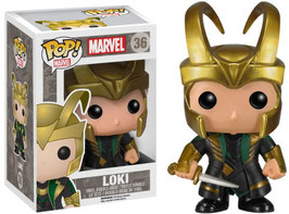 FIGURA POP! MARVEL (LOKI CON CASCO) nº36