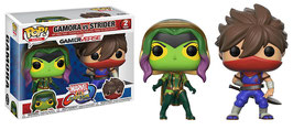 FIGURA POP! MARVEL VS. CAPCOM INFINITE (GAMORA VS. STRIDER)