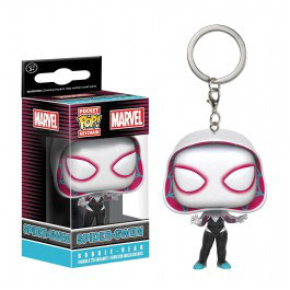 LLAVERO POCKET POP! MARVEL (SPIDER-GWEN)
