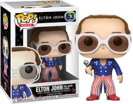 FIGURA POP! ELTON JOHN (ELTON RED, WHITE & BLUE) nº63
