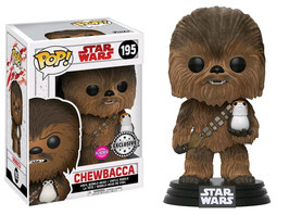 FIGURA POP! STAR WARS EPISODE VIII (CHEWBACCA FLOCKED)