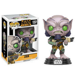 FIGURA POP! STAR WARS REBELS (ZEB) nº137