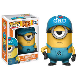 FIGURA POP! DESPICABLE ME 3/GRU MI VILLANO FAVORITO 3 (I HEART GRU MEL) nº423