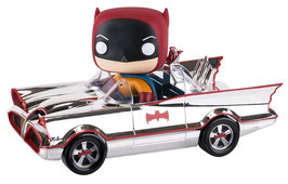 FIGURA POP! DC COMICS VEHICULO CON FIGURA 1966  BATMOBILE SDCC 2016