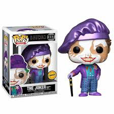FIGURA POP! BATMAN ( JOKER BATMAN 1989) Nº337 CHASE EDITION