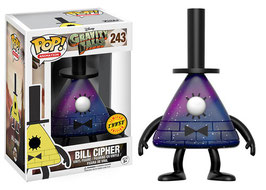 FIGURA POP! GRAVITY FALLS (BILL CIPHER) CHASE LIMITED EDITION