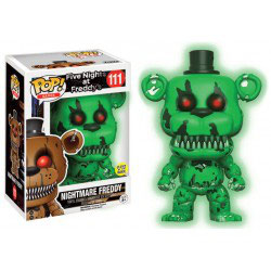 FIGURA POP! FIVE NIGHTS AT FREDDY'S (NIGHTMARE FREDDY GITD) nº111