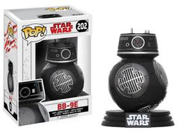 FIGURA POP! STAR WARS VIII (BB-9E CHROME)