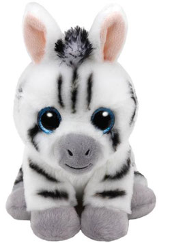 PELUCHE TY ZEBRA (STRIPES)