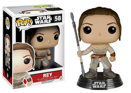 FIGURA POP! STAR WARS (REY) nº58