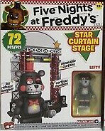 FNAF CONTRUCCION KIT MCFARLANE (STAR CURTAIN STAGE 72 PCS)