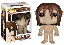 "FIGURA POP! ATTACK ON TITAN (EREN ""TITAN FORM"") nº22"