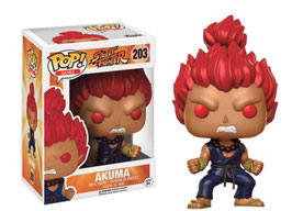 FIGURA POP! STREET FIGHTER (AKUMA) nº203
