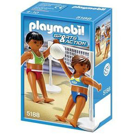 PLAYMOBIL VOLEIBOL PLAYA 5188