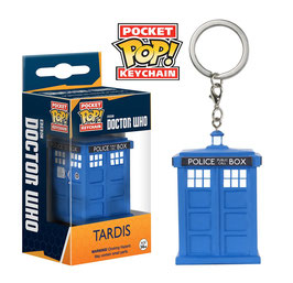 LLAVERO POCKET POP! DOCTOR WHO (TARDIS)