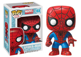FIGURA POP! SPIDER-MAN (MARVEL) nº03