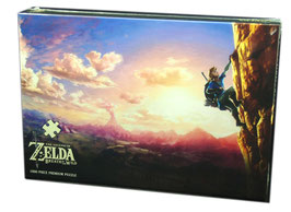 PUZZLE LEGEND OF ZELDA BREATH OF THE WILD SCALING HYRULE (1000 PIEZAS)