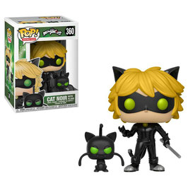 FIGURA POP! LADYBUG (CAT NOIR WITH PLAGG)