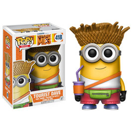 FIGURA POP! DESPICABLE ME 3/GRU MI VILLANO FAVORITO 3 (TOURIST DAVE) nº418