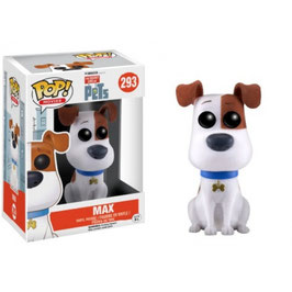 FIGURA POP! PETS/MASCOTAS (MAX FLOCKED)