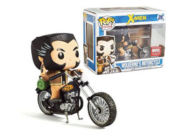 FIGURA POP! X-MEN (LOBEZNO/WOLVERINE MOTORCYCLE EXCLUSIVE) nº26