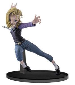 FIGURA DRAGONBALL SUPER SCULTURES BIG BUDOUKAI 6 ANDROID 18, 15CM