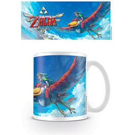 LEGEND OF ZELDA SKYWARD SWORD TAZA LINK ON LOFTWING