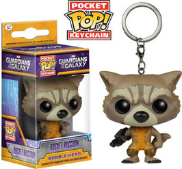 LLAVERO POCKET POP! GUARDIANES DE LA GALAXIA (ROCKET RACCOON)