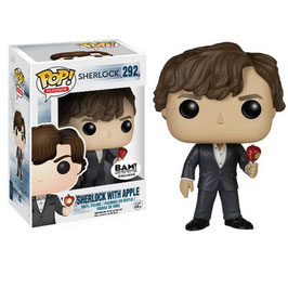 FIGURA POP! SHERLOCK (SHERLOCK WITH APPLE)