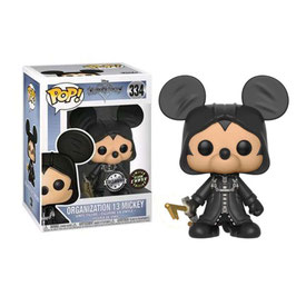 FIGURA POP! KINGDOM HEARTS (ORGANIZATION 13 MICKEY) CHASE LIMITED EDITION