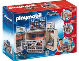 PLAYMOBIL COFRE CUARTEL DE POLICIA 5421