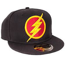 GORRA BEISBOL THE FLASH LOGO
