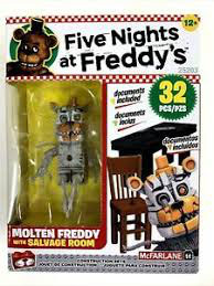 FNAF CONTRUCCION KIT MCFARLANE (MOLTEN FREDDY WITH SALVAGE ROOM)