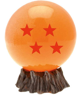 MINI HUCHA DRAGON BALL PLASTOY BOLA 4 ESTRELLAS