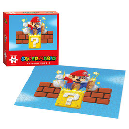 PUZZLE SUPER MARIO BROS. GROUND POUND (550 piezas)