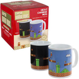 TAZA MARIO BROS LEVEL (SENSITIVA AL CALOR)