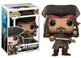 FIGURA POP! PIRATAS DEL CARIBE PART 5 (JACK SPARROW) nº273