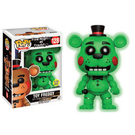 FIGURA POP! FIVE NIGHTS AT FREDDY  (TOY FREDDY GITD) nº128