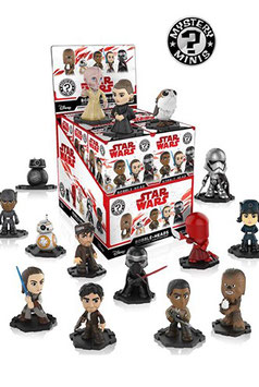 Mystery Minis Star Wars VIII The Last Jedi