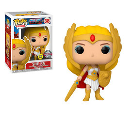 FIGURA POP! MASTERS OF THE UNIVERSE (SHE-RA) GITD SPECIAL EDITION