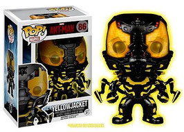 FIGURA POP! ANT-MAN (YELLOW JACKET) GLOW IN THE DARK nº86