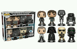 FIGURA POP! PACK 8 - STAR WARS ROGUE ONE