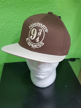 GORRA BÉISBOL HARRY POTTER MARRÓN HOGWARTS EXPRESS