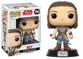 FIGURA POP! STAR WARS EPISODE VIII (REY) nº190