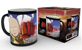 TAZA ONE PUNCH MAN SENSITIVA AL CALOR SAITAMA