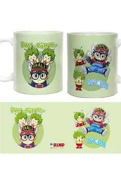 TAZA DR.SLUMP ARALE AND GATCHANS