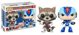 FIGURA POP! MARVEL VS. CAPCOM INFINITE PACK 2 (ROCKET VS. MEGA MAN X)