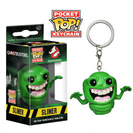LLAVERO POCKET POP! LOS CAZAFANTASMAS (SLIMER)